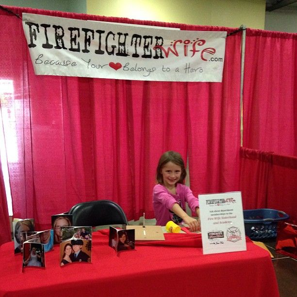 FirefighterWife sets up for the Ohio Fire and EMS Expo September 2013!   Join them there!  Want more information?  http://firefighterwife.com/blog/2013/09/24/join-the-fire-wives-at-ohio-fire-and-ems-expo/