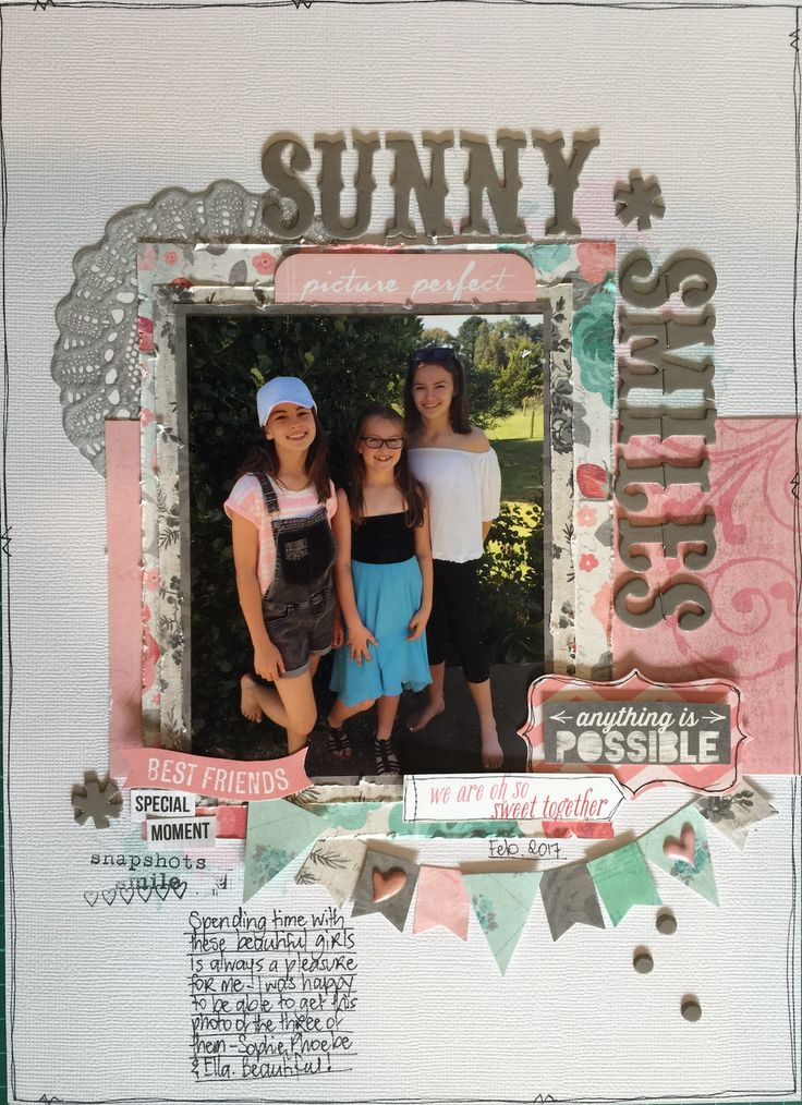 Sunny Smiles 9x12