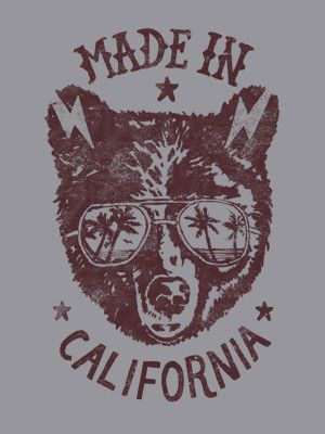 """Made In California"" hoodie"