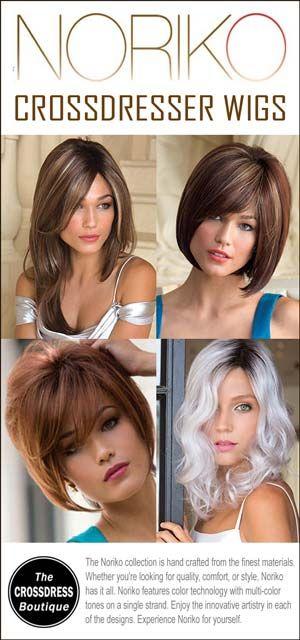 Noriko Crossdresser Wig Collection