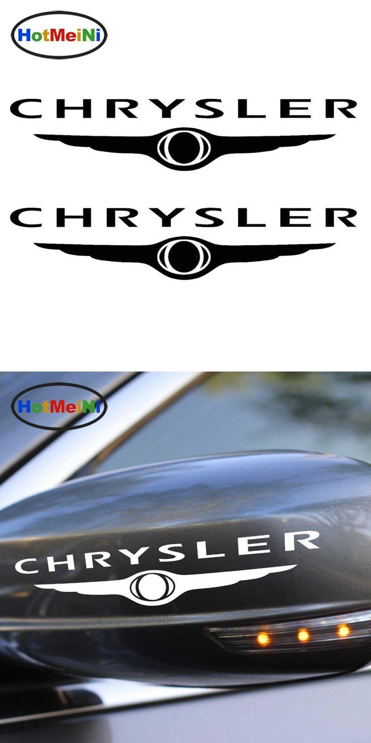 The 25 best chrysler logo ideas on pinterest chrysler emblem hotmeini 1325cm set of 2 vinyl stickers logo chrysler car sticker jdm vinyl biocorpaavc