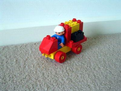 duplo fire rescue vehicle