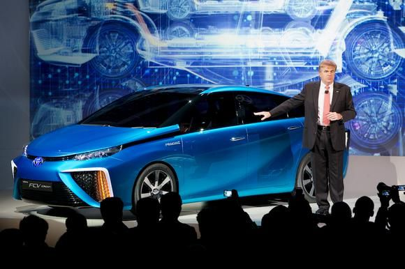 Will Americans Buy Toyota Motor Corporation's Hydrogen Car? (TM)