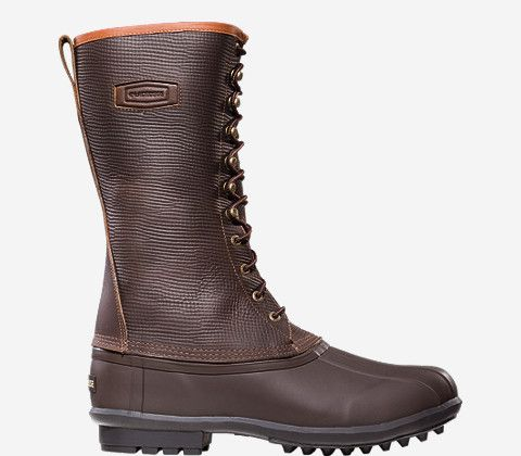 LaCrosse Mountaineer™ 200G   Just ordered these babies for myself for winter weather! Love the dark leather and the knee high laces!