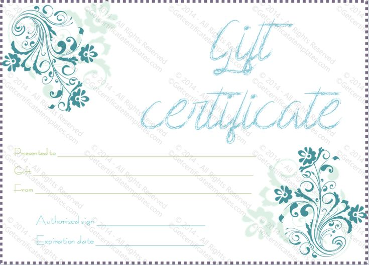 9 best templates images on pinterest gift certificates blank gift gift certificate template yelopaper Choice Image