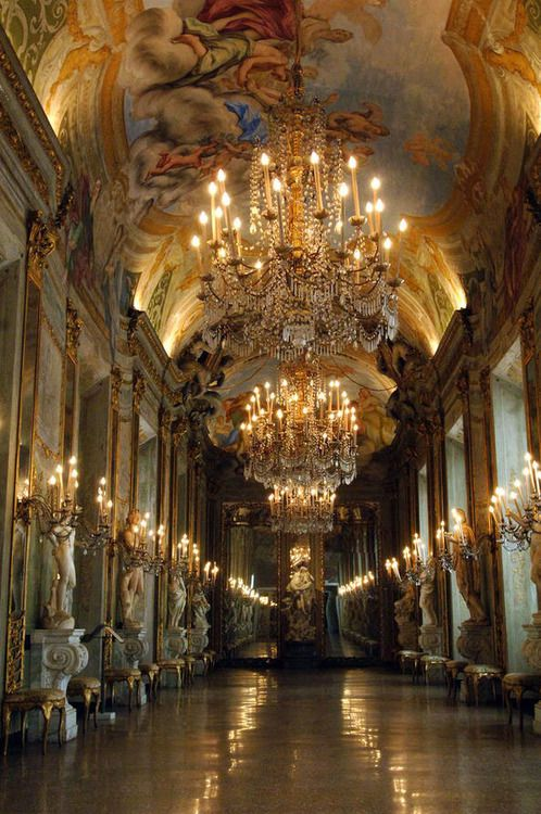 GENOA:   Royal Palace Museum.    Palazzo Reale, Genoa province Liguria. Getting pumped for next weeks cruise!~N