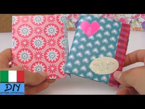 Portafoglio fatto di carta / Portafoglio fai da te / DIY - portafoglio di carta compatto e facile - YouTube