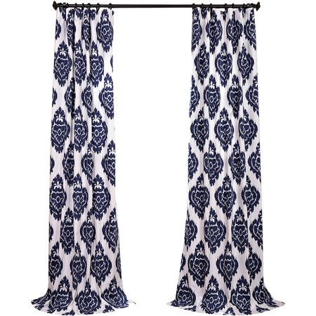 Add a pop of pattern to your kitchen or living room with this lovely curtain, showcasing an ikat motif for stylish appeal.   Produc...