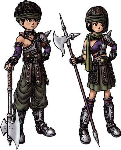 Dragon Quest all classes   Dragon Quest IX: Sentinels of the Starry Skies