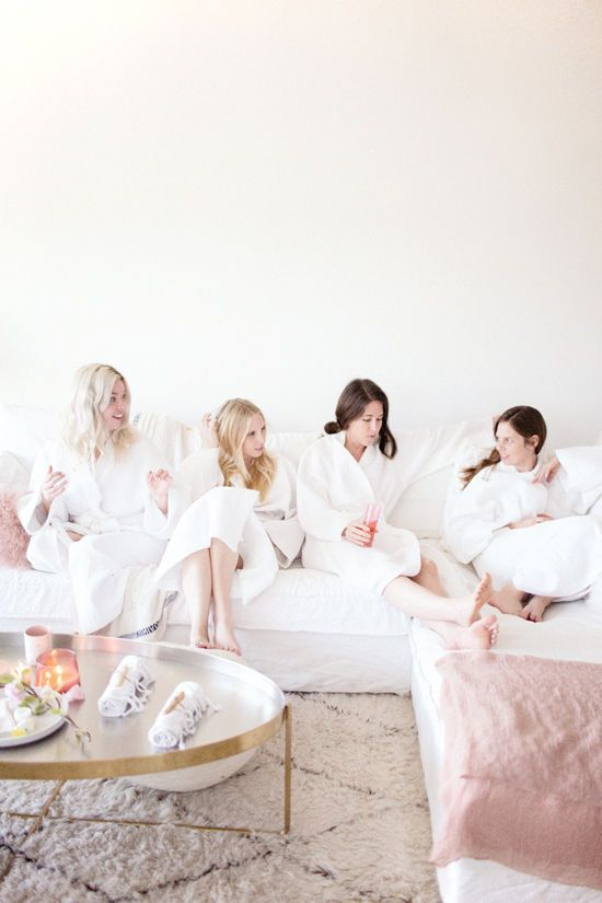 Friday Night Spa Night! Have a girl's night in and pamper yourselves. Sounds fun!
