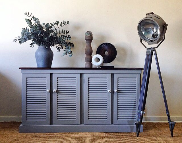 Stunning French country sideboard refurbished & styled by Home of Dutch