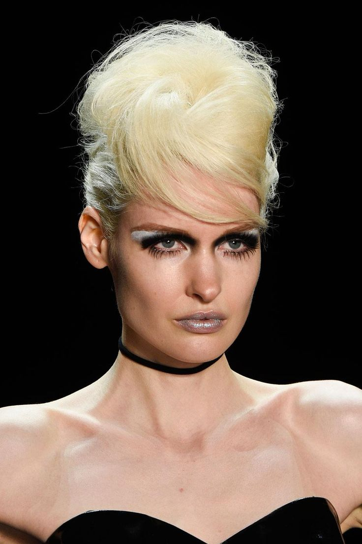 Fashion Week de New York printemps,été 2016 coiffures NYFW newyork
