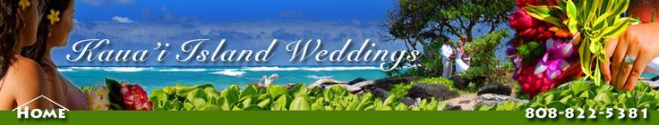 Kauai Island Weddings: Wedding packages, wedding and hotel packages, and Kauai's best photograhy deals.