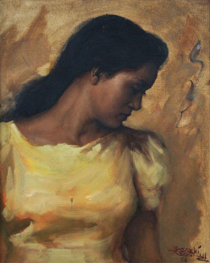 Basoeki Abdullah - Potret Wanita