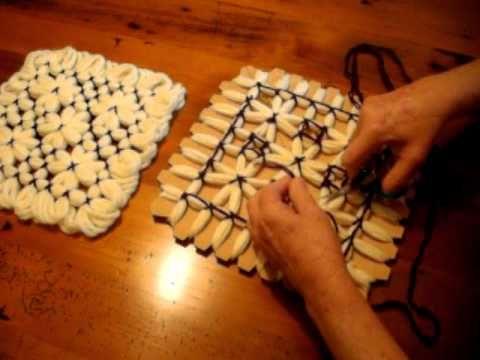 ▶ Butterfly Loom Magic Board Pattern 3.AVI - YouTube