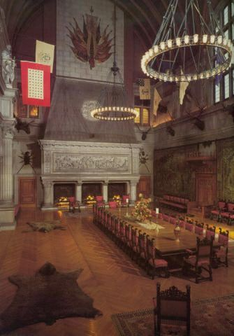 The Banquet Hall At Biltmore House Estate North Carolina Postcard