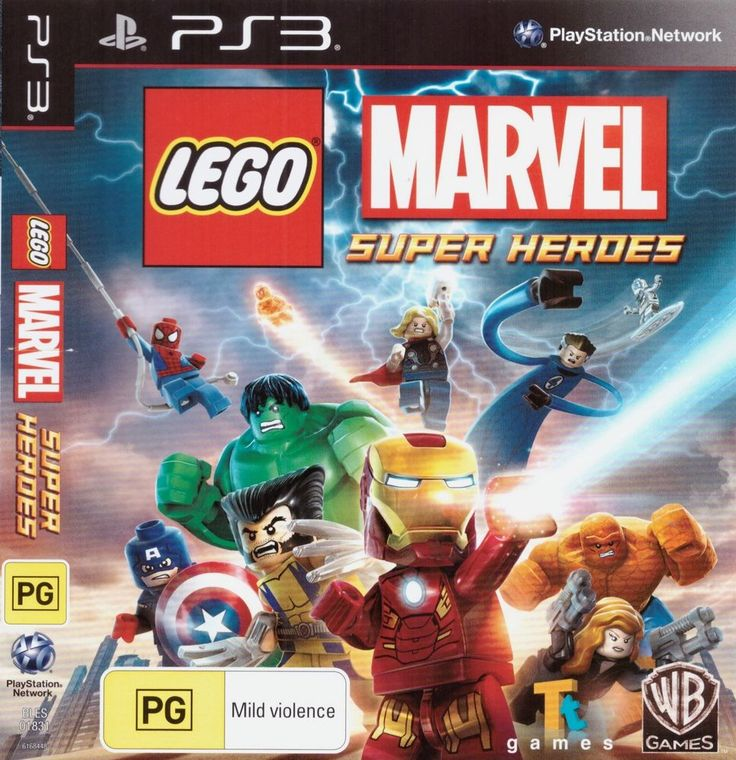 Lego Marvel Super Heroes - PS3 Playstation 3 Complete Game