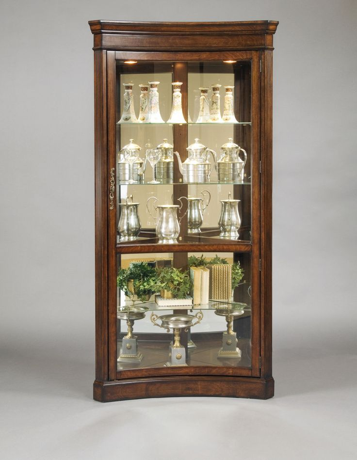 124 best Curio Cabinets images on Pinterest