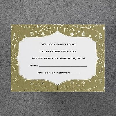 791 best respond invitation cards images on pinterest invitation gold sparkle respond card and envelope weddingneedsrlsoncraft stopboris Gallery