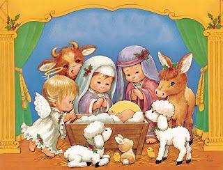Imprimir imagenes infantiles de navidad
