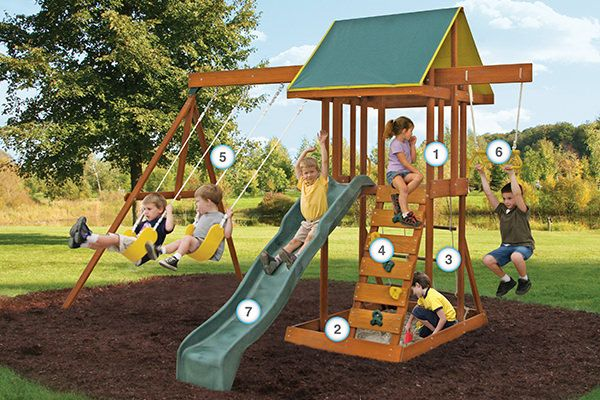 Meadowvale II - Products | Big Backyard Play Set