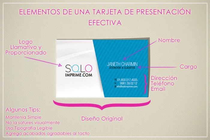 Tarjeta de Presentacion, efectiva, tips, tipografia, logo, tarjeta de visita