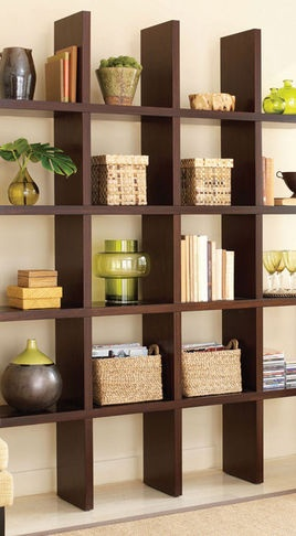 book shelf, I would love to do something like this in our bedroom