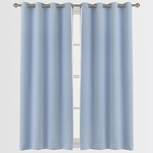 Cherry Home Blackout Room Darkening Curtains Window Panel