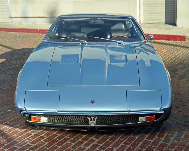 1971 - Maserati Ghibli 4.7 Coupe - front