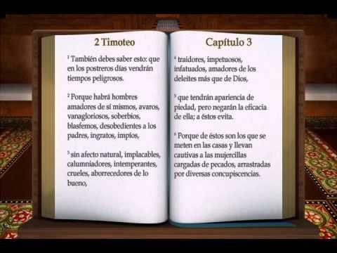 "LA BIBLIA "" 2 TIMOTEO "" COMPLETO REINA VALERA NUEVO TESTAMENTO - YouTube"