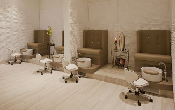 Award winning interior design tricho salon spa on for Adolf biecker salon