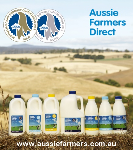 Aussie #Farmers #Dairy has won gold and silver #awards, in both the Victorian   Dairy Product Competition and the National Awards of Excellence, for their no fat and whole #milk at the   Dairy Industry Association of Australia (DIAA) Awards of Excellence.