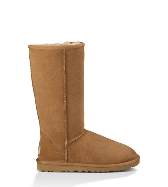 Classic Tall Uggs, in Chestnut size 7. Need to replace mine since mine got ruined cleaning the Casino Apt.
