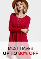 Pink Round Neck Long Sleeve Bow Loose Blouse -SheIn(Sheinside)