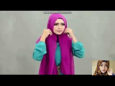 Tutorial Hijab-Termudah Pashmina Terbaru 2016 - Cara Berhijab Wanita Muslimah Trend Masa Kini