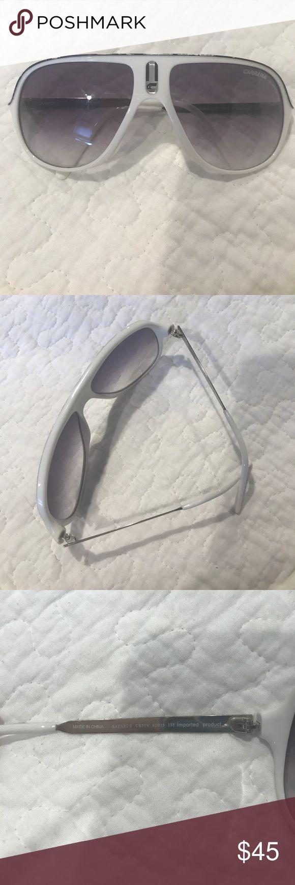 Carrera sunglasses Unisex Carrera sunglasses great for summer! Minor signs of wear. White. Carrera Accessories Sunglasses