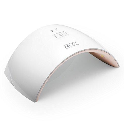 Oferta: 18.99€ Dto: -60%. Comprar Ofertas de Abody Secador de Uñas 24W Lámpara LED UV Profesional Maquillaje Uñas con Temporizador para UV Gel / Gel de Constructor / LED barato. ¡Mira las ofertas!