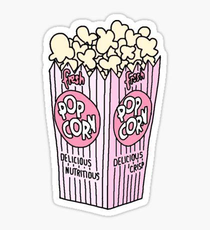 Pegatina popcorn