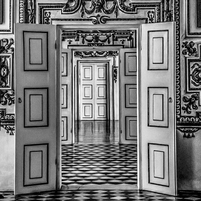 Nelle sale del Palazzo Ducale di Sassuolo (MO) - Instagram by massimo_mazzoni