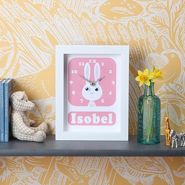 11 best easter gifts images on pinterest easter gift animal are you interested in our personalised animal christening gifts with our personalised animal clock you need look no further negle Choice Image