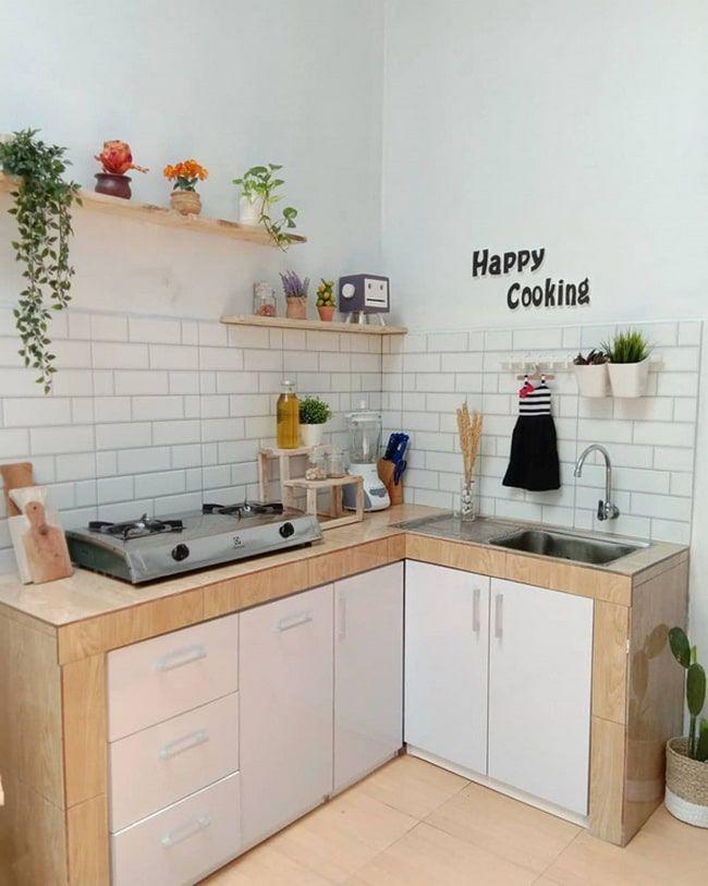 Ideas Para Aprovechar El Espacio En Cocinas Pequeñas 2021 Decoracion De Cocinas Sencillas Cocinas De Casas Pequeñas Cocinas De Casa