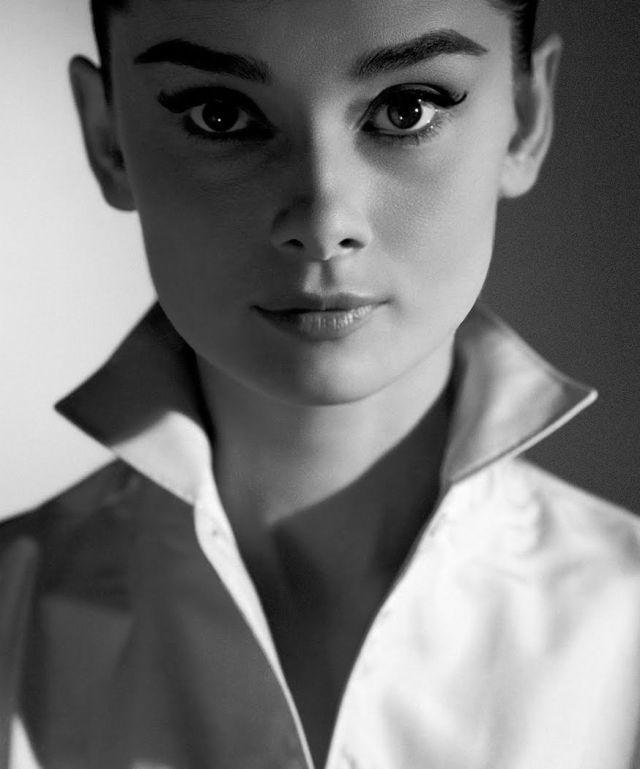 Audrey Hepburn by Richard Avedon, 1957