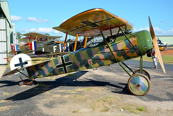 """John Parker from Warbirds Online reports on the TAVAS Great Vintage Fly-In titled """"A tribute to the Knights of the Sky"""" 2016 at the Caboolture airfield, Qld"""
