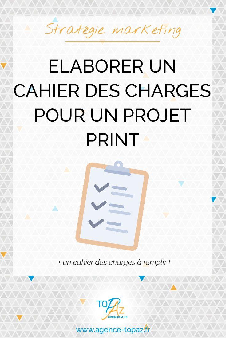 Rediger Un Cahier Des Charges Pour Un Projet Graphique Est