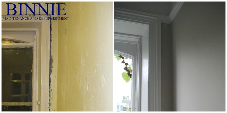 Before and After Binnie Maintenance and Refurbishment Ltd.