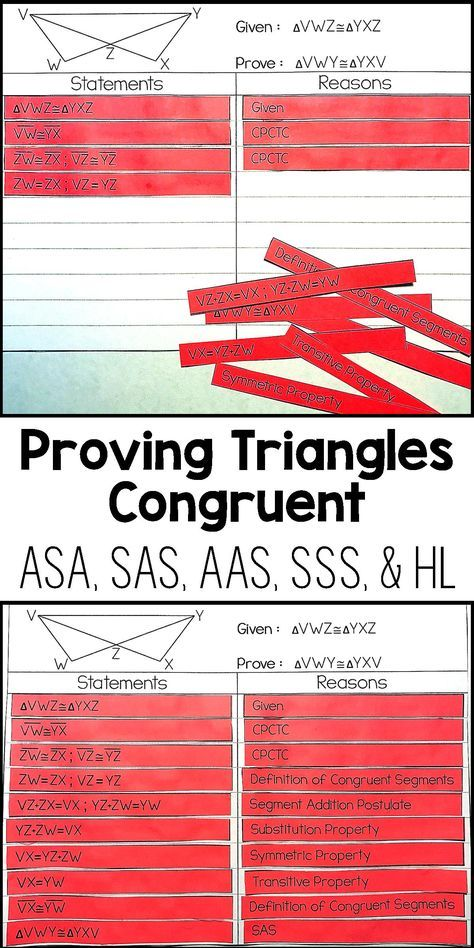 My Geometry students loved this proof activity!  It was the perfect geometry worksheet alternative to help my High School Math students gets some hands on Proof practice.  I loved how they had to use the different triangle concurrency theorems to prove triangles congruent.  I will definitely be doing this activity with my High School Geometry students every time I teach Geometry proofs.
