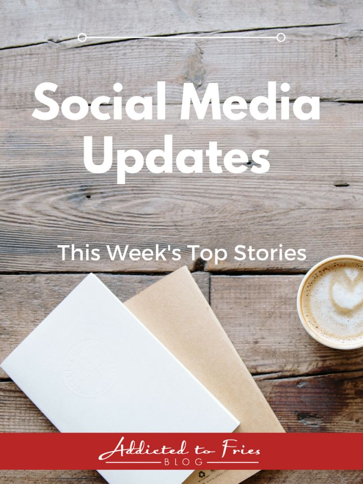 This week's social media news updates include new features from Twitter and Facebook and a VR app from Google.