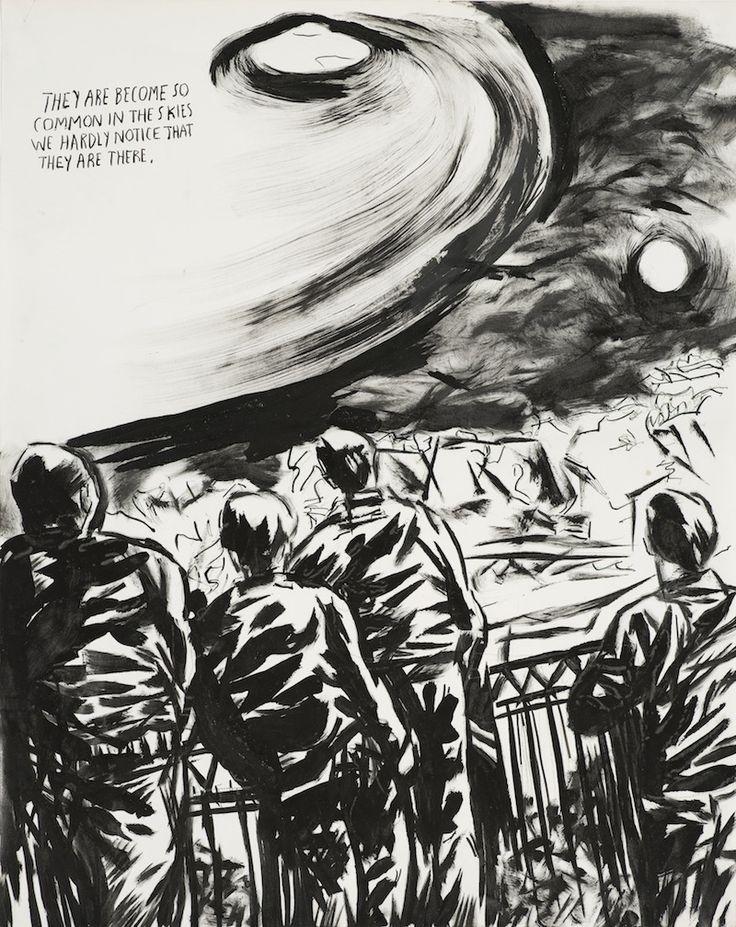 Raymond Pettibon print, No Title (They are become), 2012.