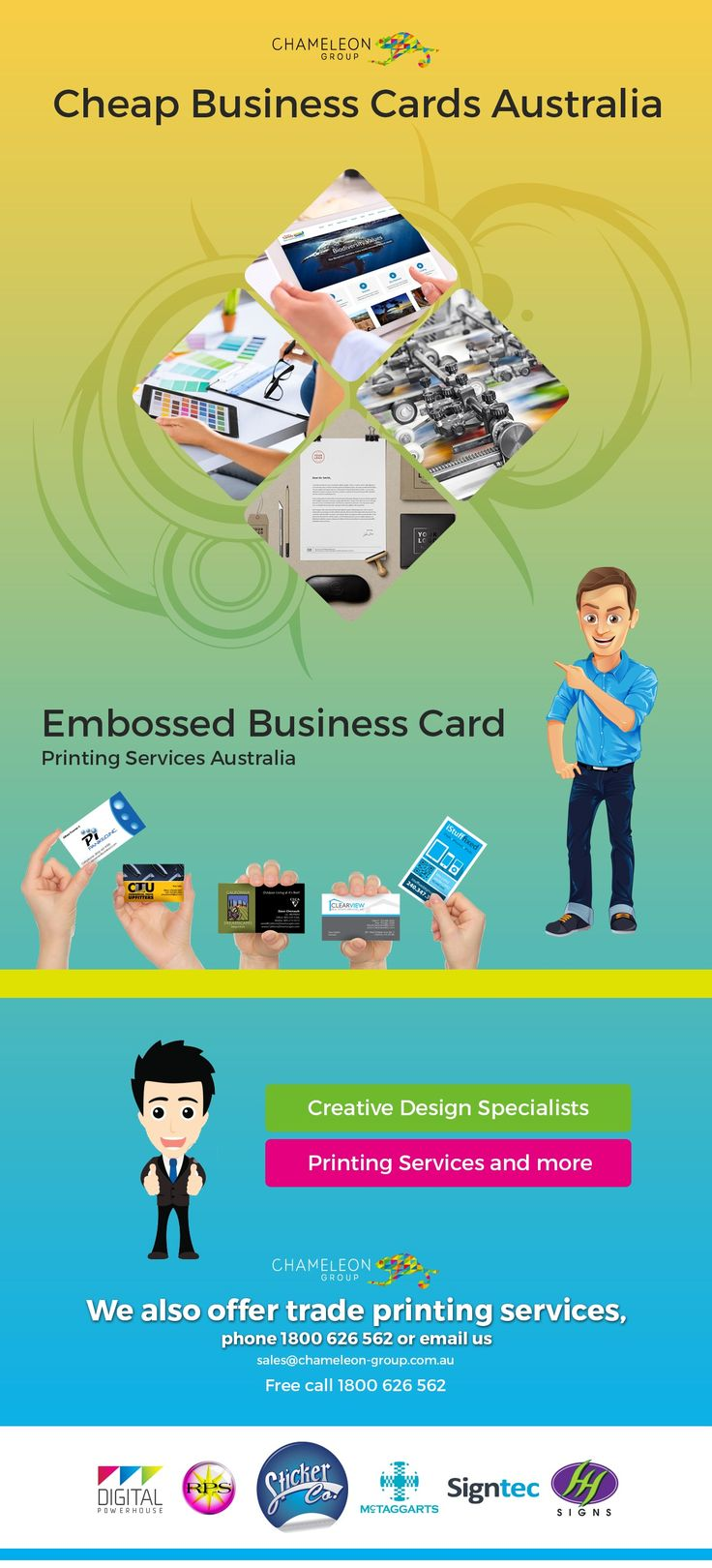 No artwork? No problem! Our team of #designers specialise in #creative #design solutions and Cheap #BusinessCards #Australia. includes complimentary art.