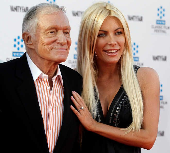 Playboy magazine founder Hugh Hefner, dies at 91 on September 25, 2017, peacefully at his home. Another report states cardiac arrest due to fighting E-Coli. Hefner, helped usher a sexual revolution in the 1960s, his groundbreaking men's magazine, built a business empire around his libertine lifestyle. He states thanks to the impotency-fighting drug Viagra he continued exercising his libido into his 80s. At age 86, he took Crystal Harris, (pictured) who was 60 years younger, as his third…